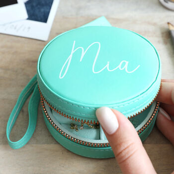 personalised gifts for female travelers jewellery box