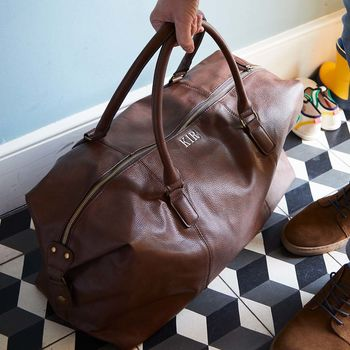 personalised gifts for travel lovers later holdall