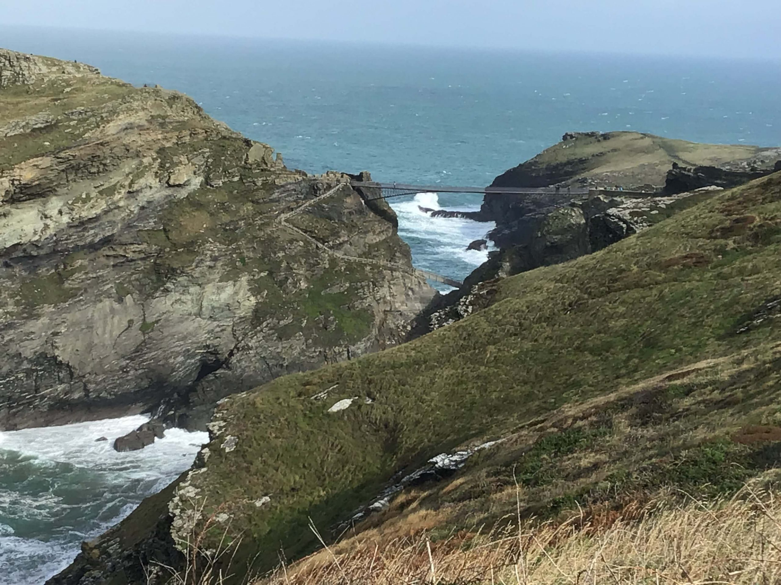 Tintagel Bridge From A Far