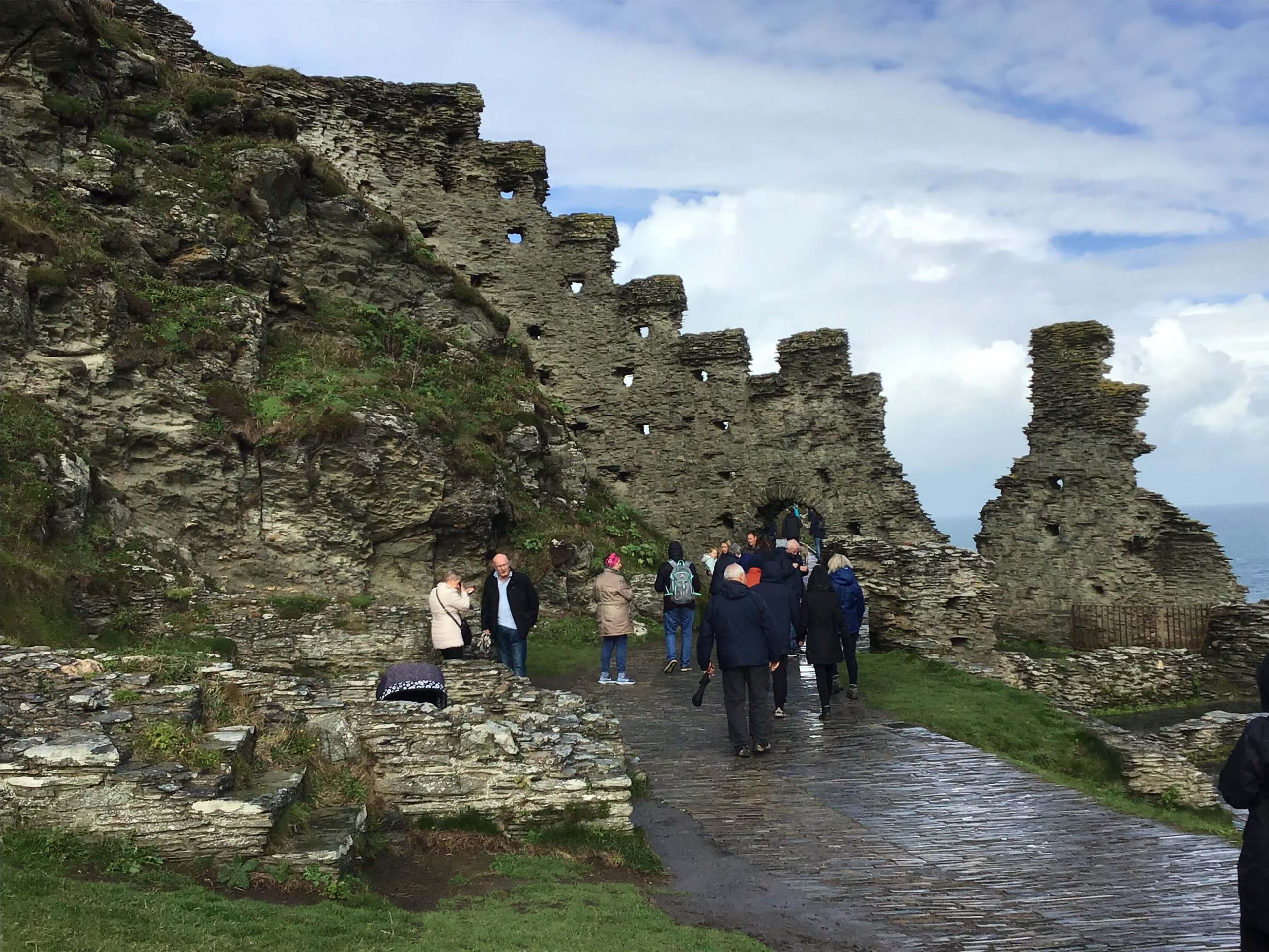 The Ruins Of Tintagel Castle