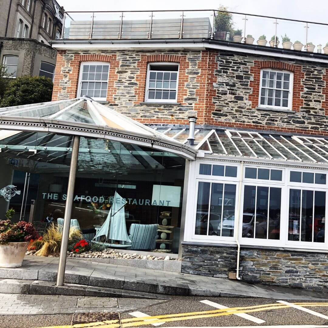 rick steins The seafood Restaurant in Padstow