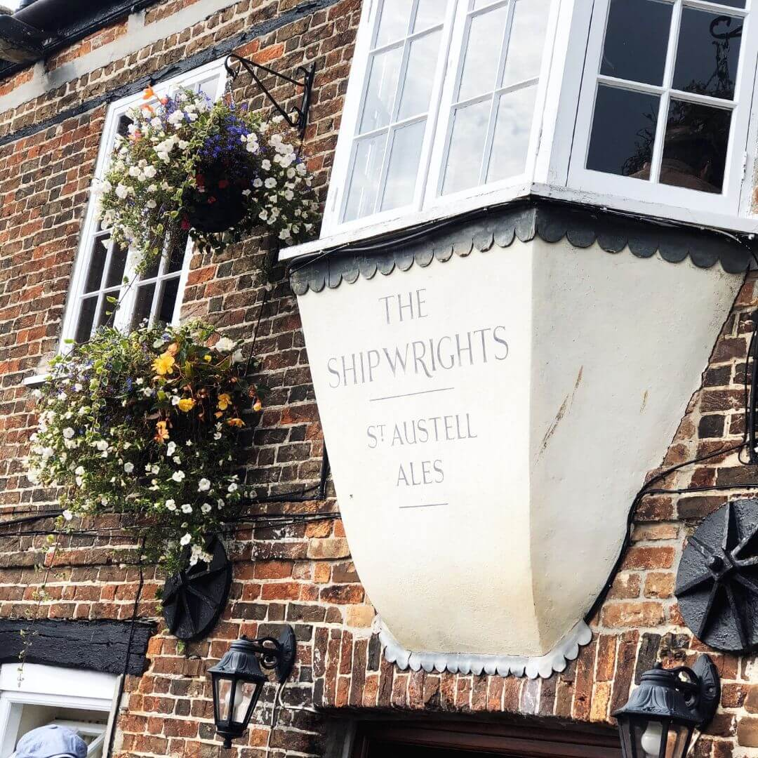 shipwrights inn in padstow, cornwall