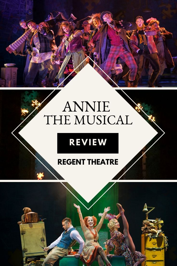 Annie The West End Musical Comes To The Regent Theatre In Stoke
