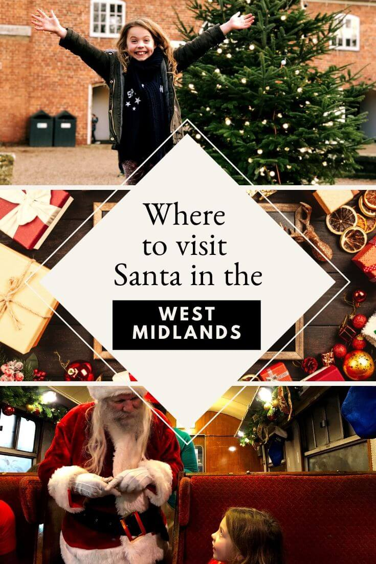 Where To See Santa In The West Midlands This Year