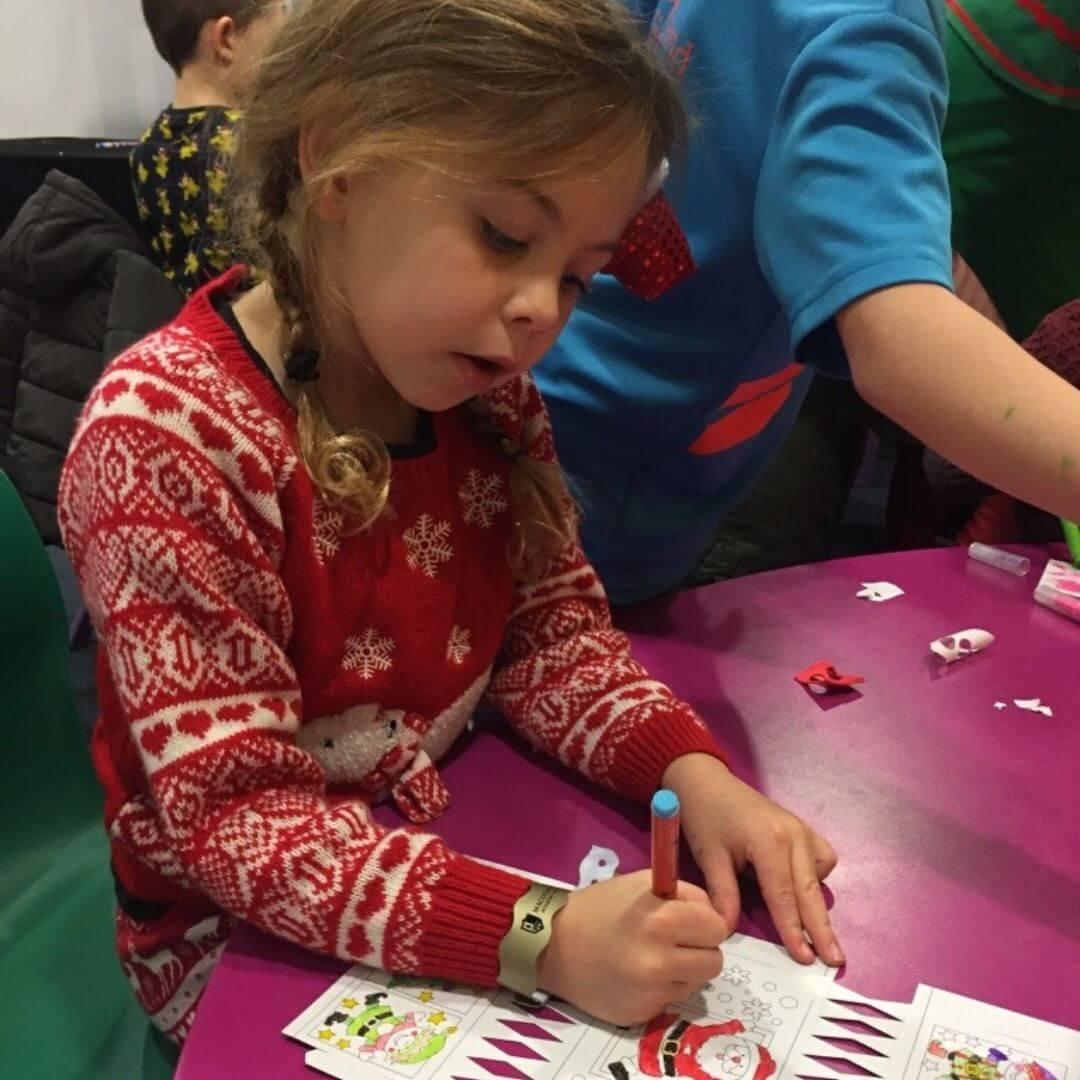 Aviemore Santa Weekend Crafting