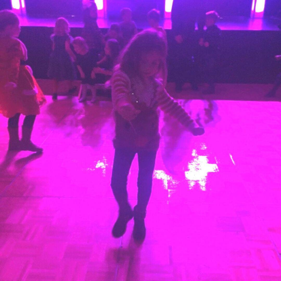 Piper Quinn Dancing At The Santa Weekend In Aviemore