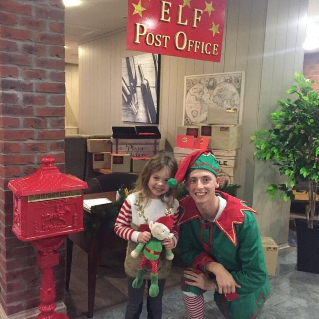 Aviemore Santa Weekend Elf Post Office