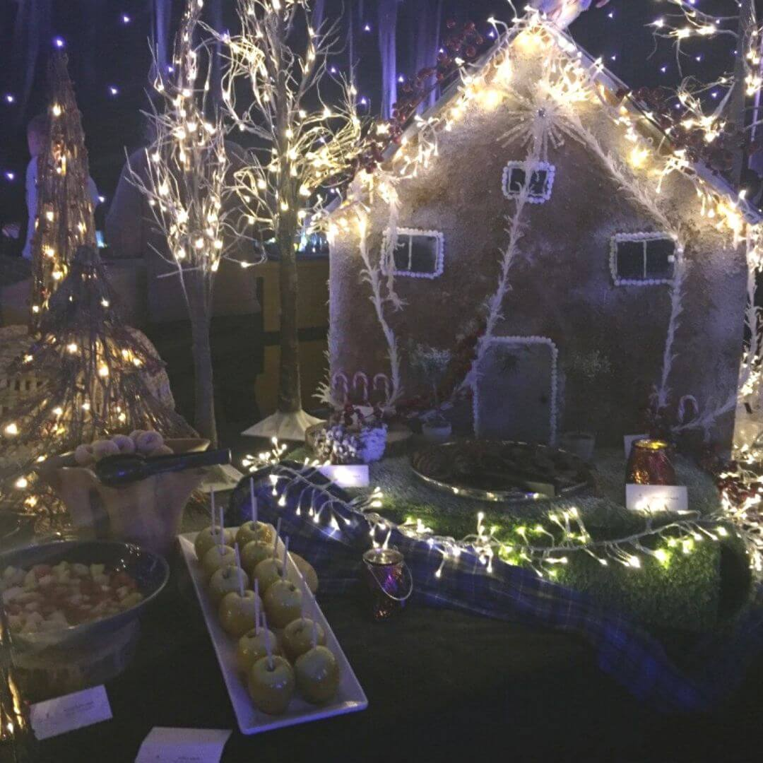 Gingerbread House At The Aviemore Santa Weekend