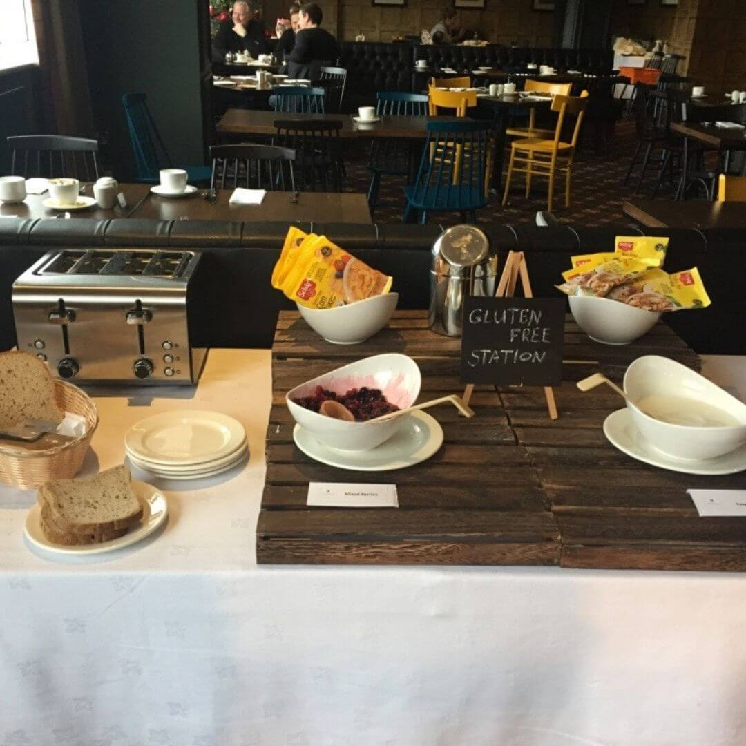 Gluten Free Breakfast Option At Mac Donald Aviemore