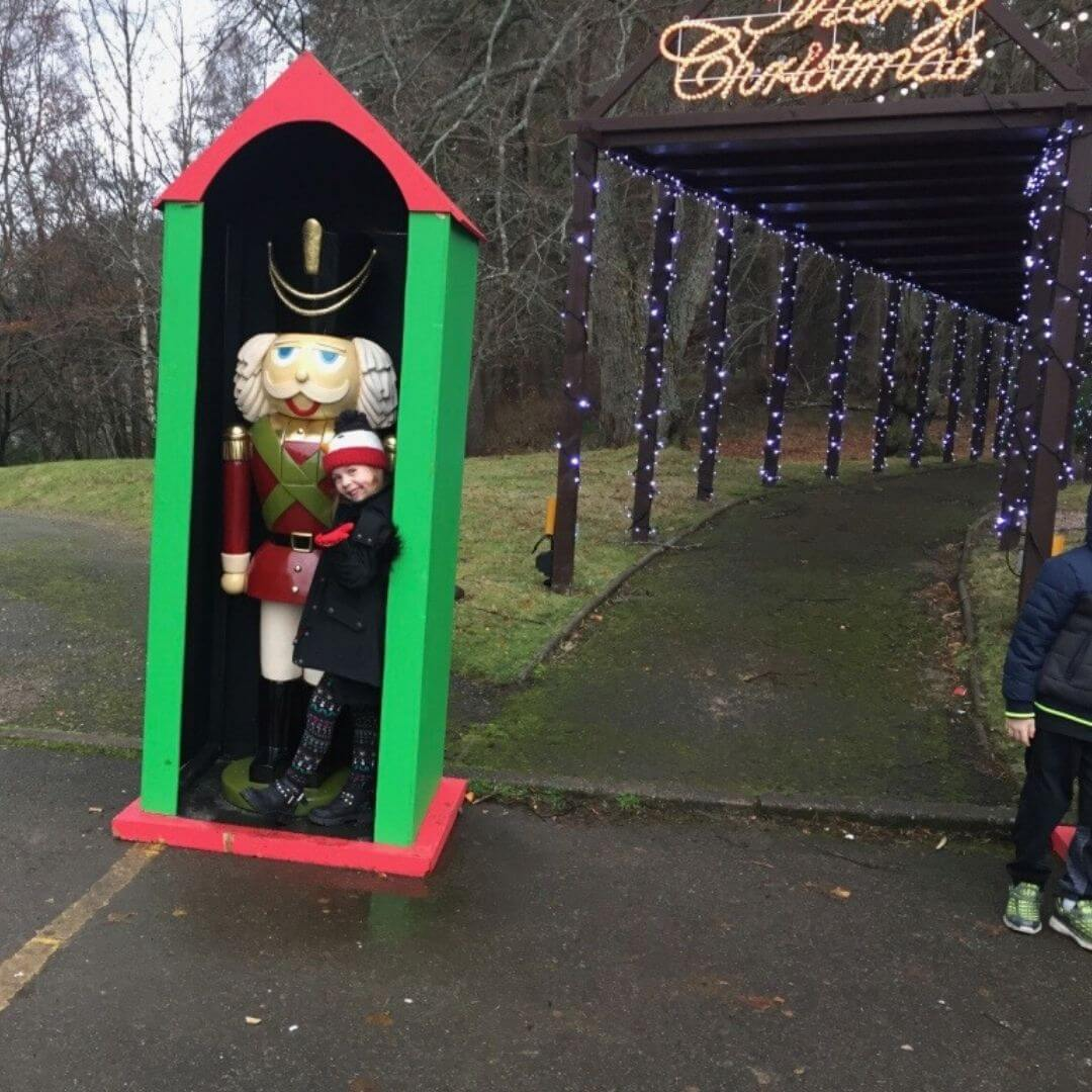 Meeting Santa At The Macdonald Aviemore Hotel