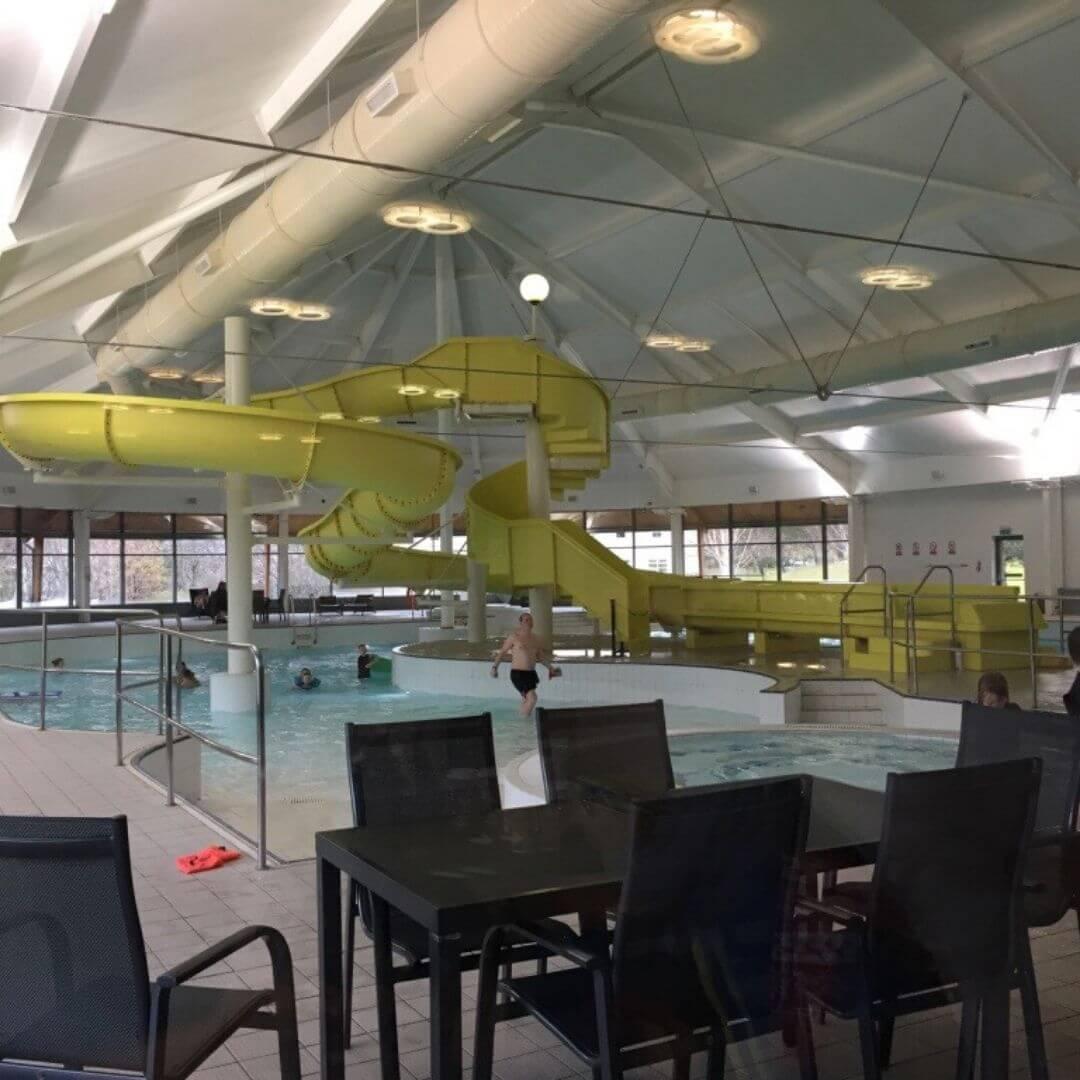 swimming pool at the aviemore mac donald hotel