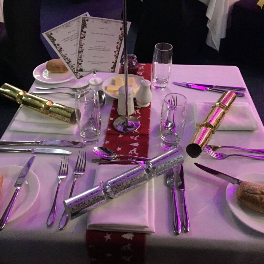 Family Gala Dinner At The Macdonald Aviemore Hotel During A Santa Weekend