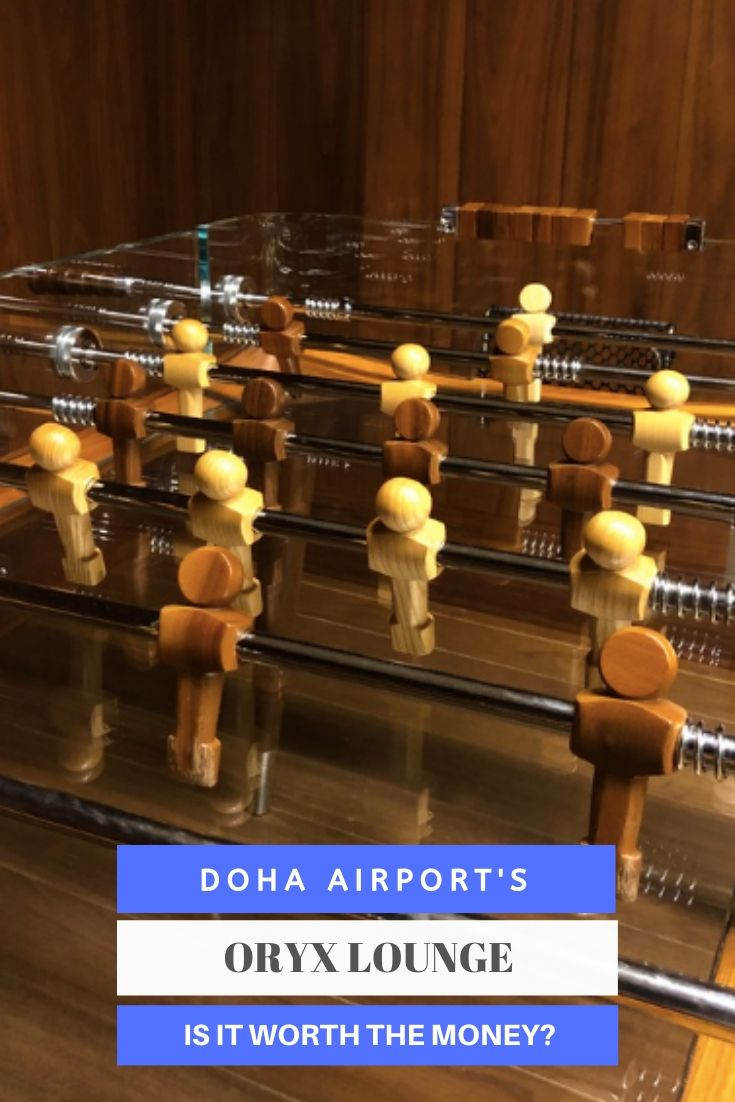 All The Family Friendly Facilities Available At The Oryx Lounge At Doha Airport