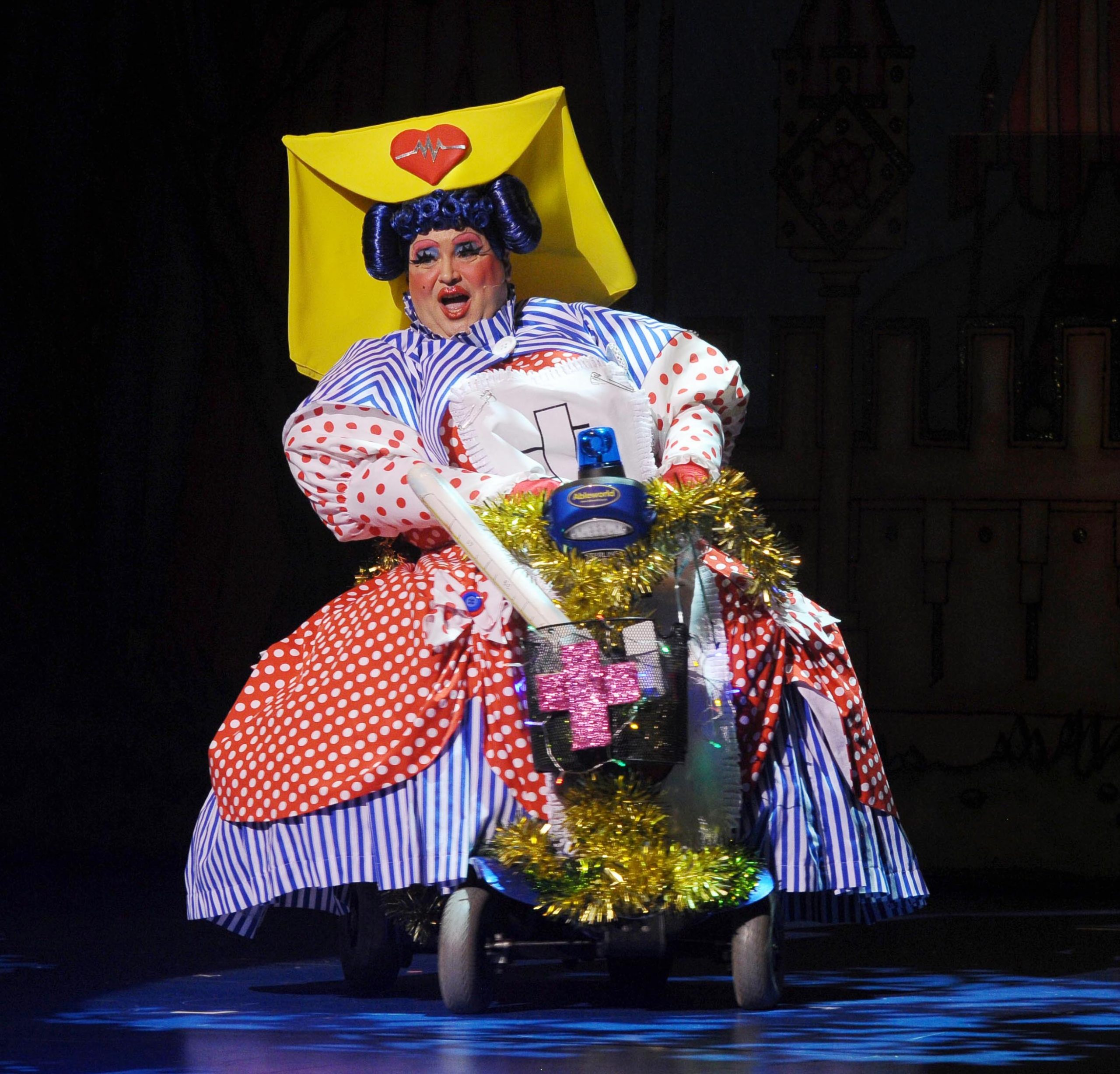 sleeping beauty panto christian patterson as dame
