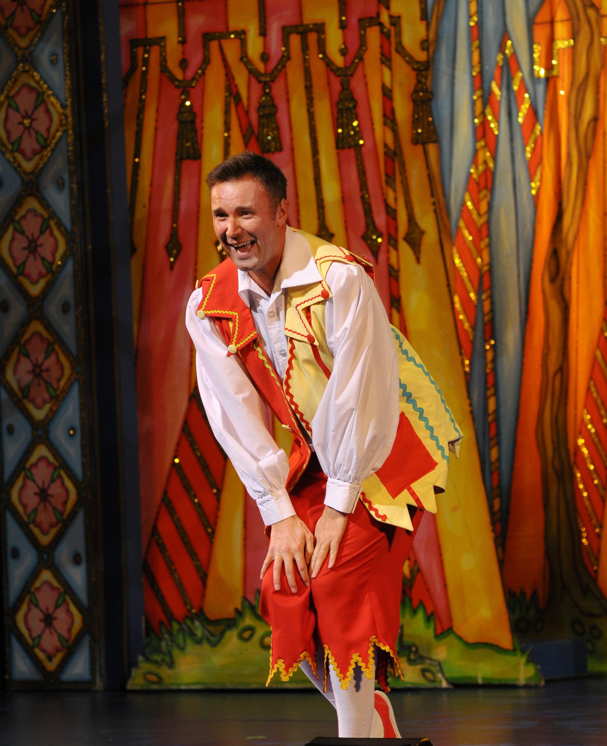 sleeping beauty pantomime in stoke muddles