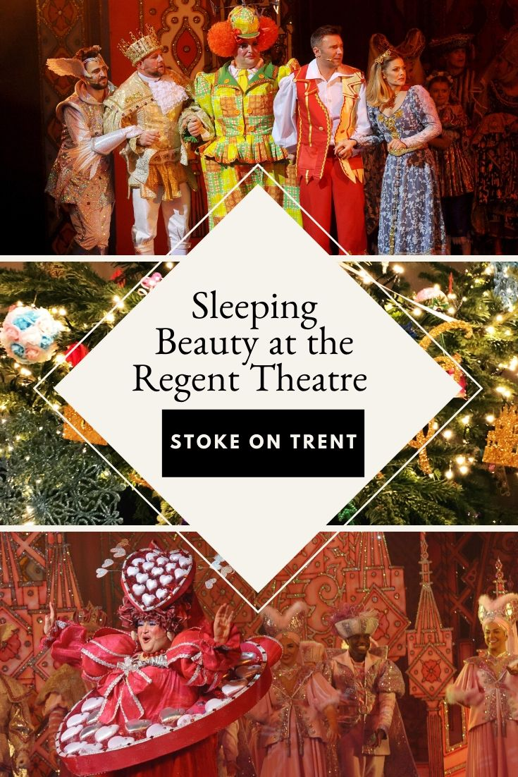 sleeping beauty pantomime at the regent theatre