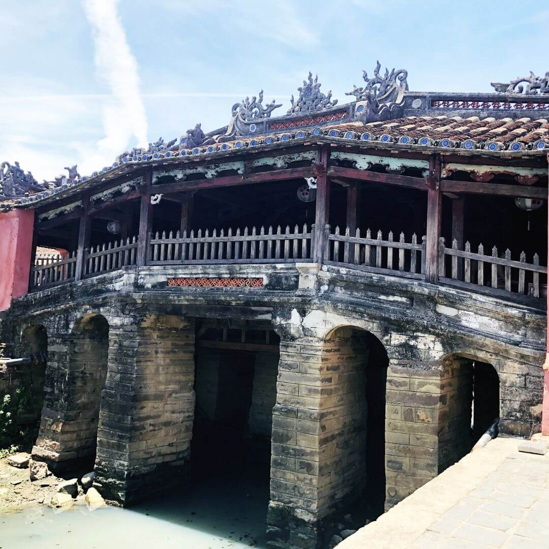 The Old Japanese Bridge In Hoi An, Vietnam