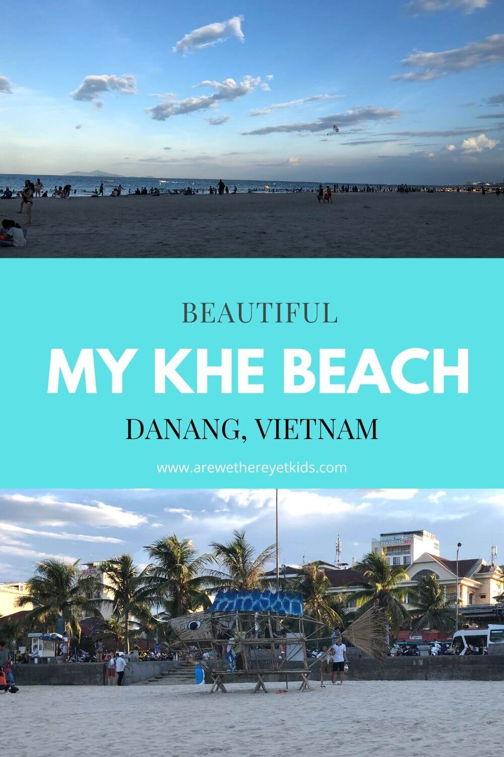 Beautiful My Khe Beach In Da Nang Pin Image