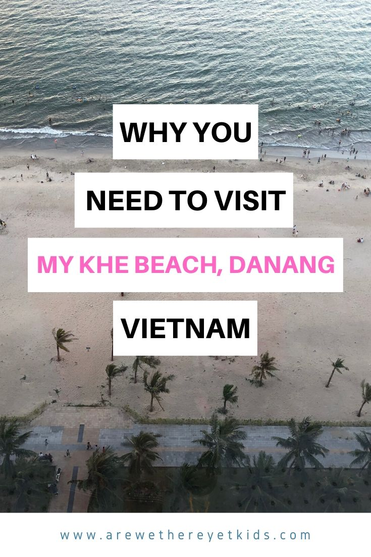 why you need to visit my the beach in danang pin image