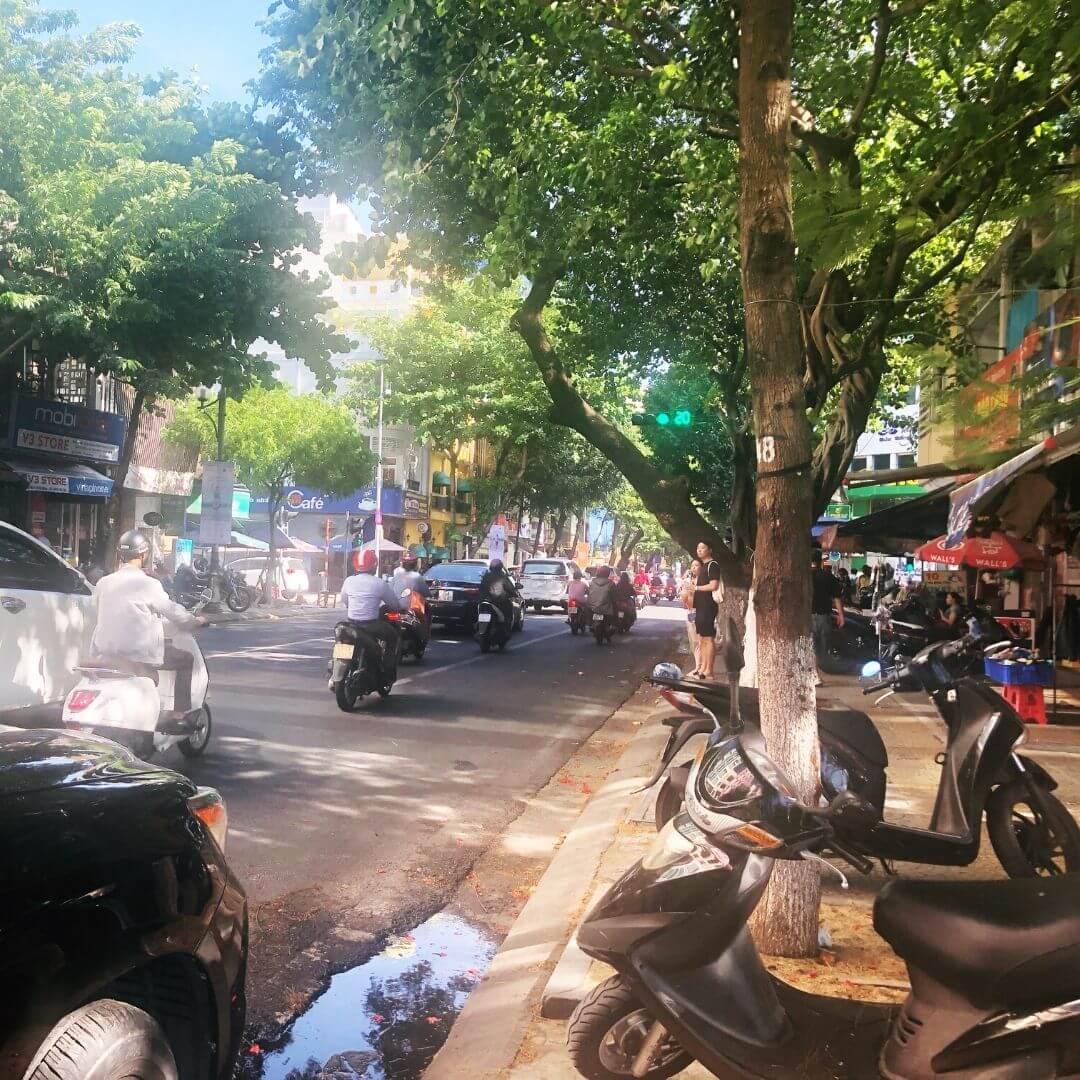 Busy Roads In Vietnam