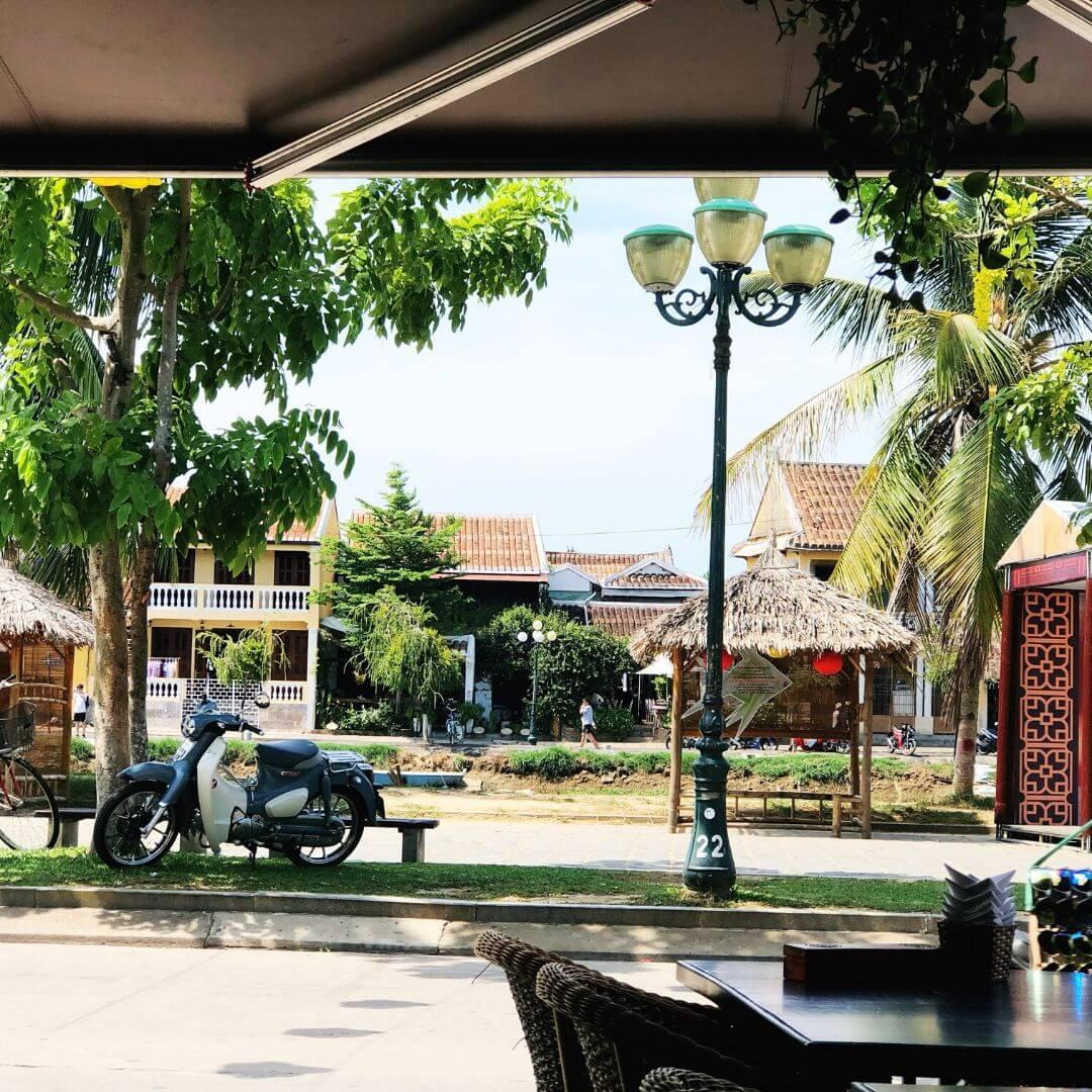Pretty Street In Vietnam