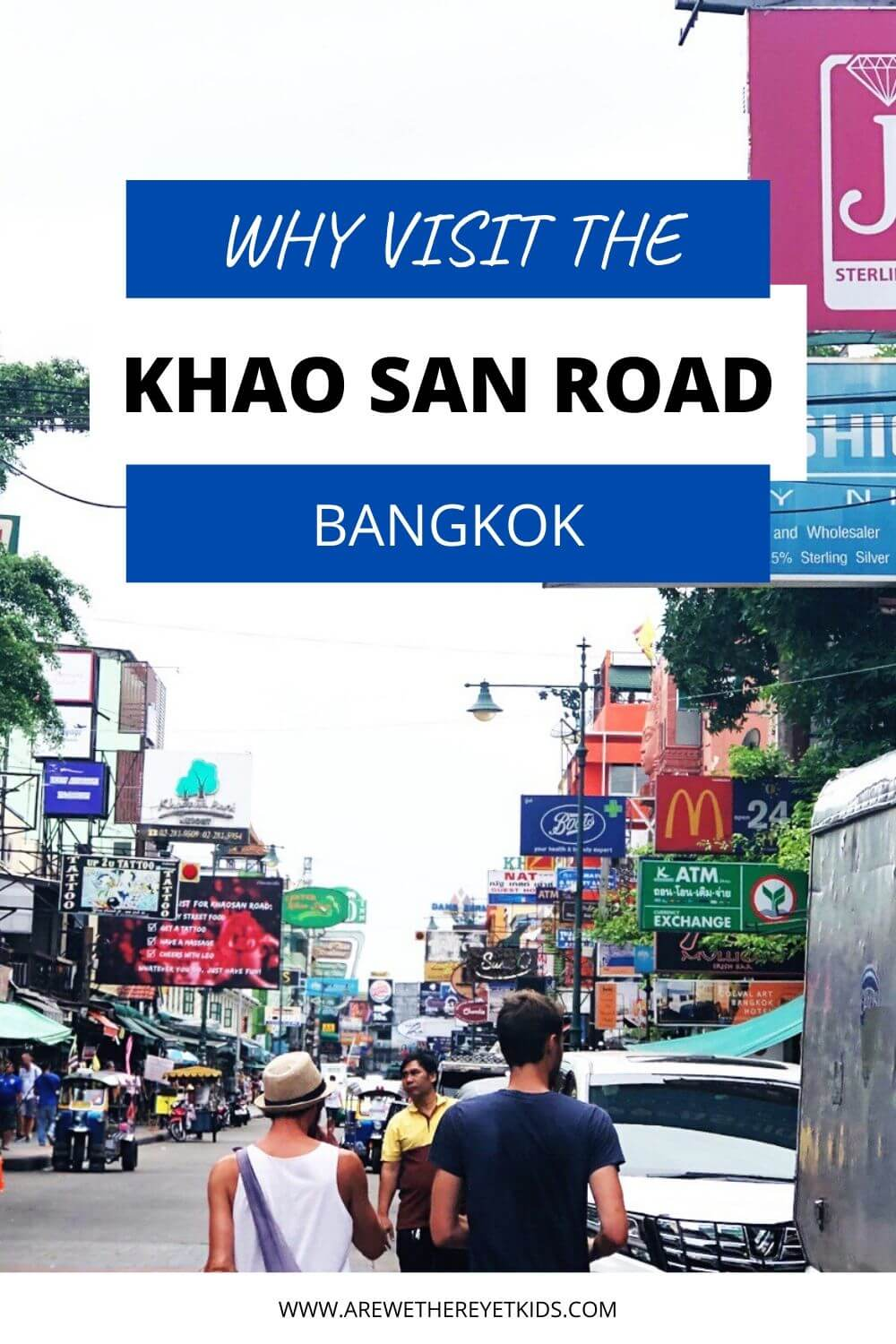 visiting the khao san road pin image