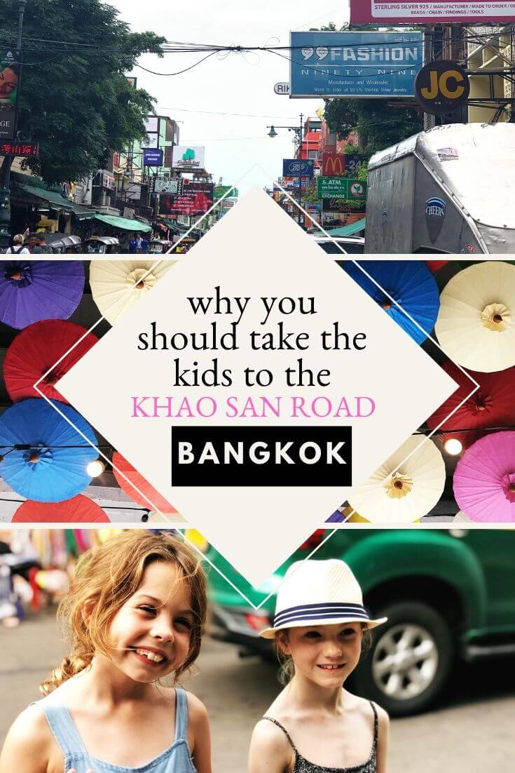 Take The Kids To The Khao San Road Pin Image