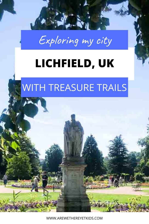 treasure trail in lichfield pin