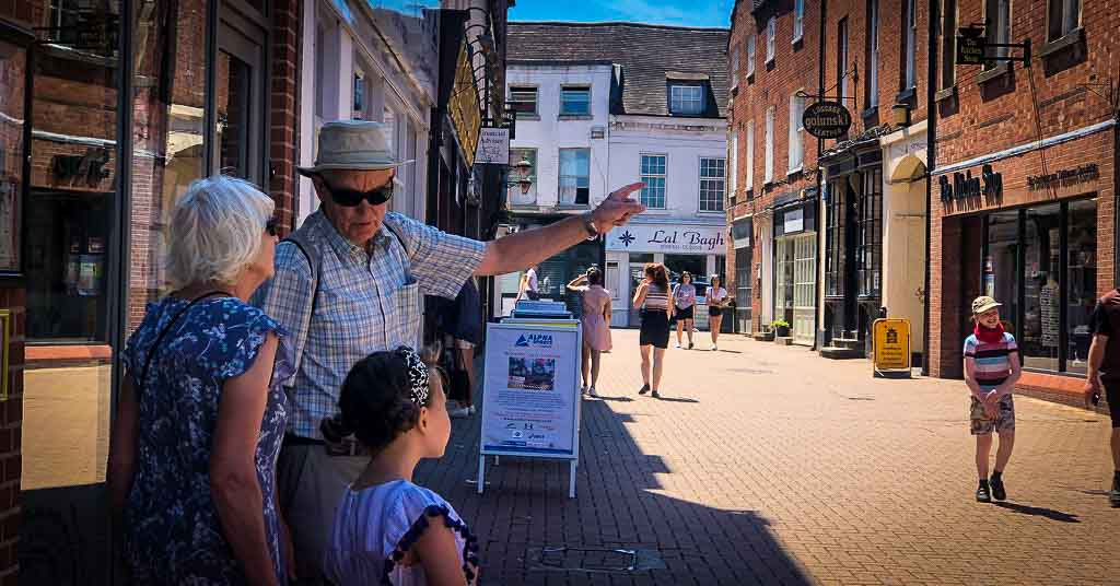 treasure trail through lichfield