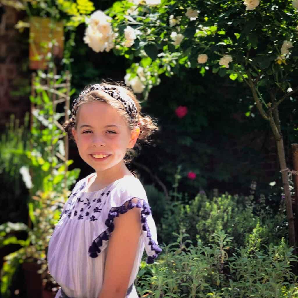 Piper Quinn In A Rose Garden