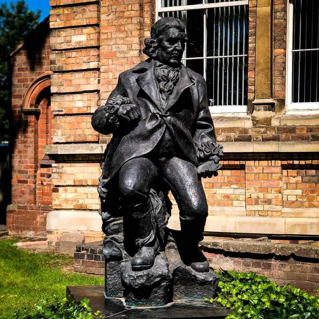 Statue In Lichfield