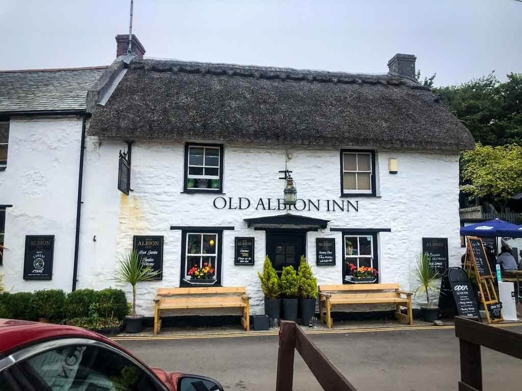 old albion inn at crantock