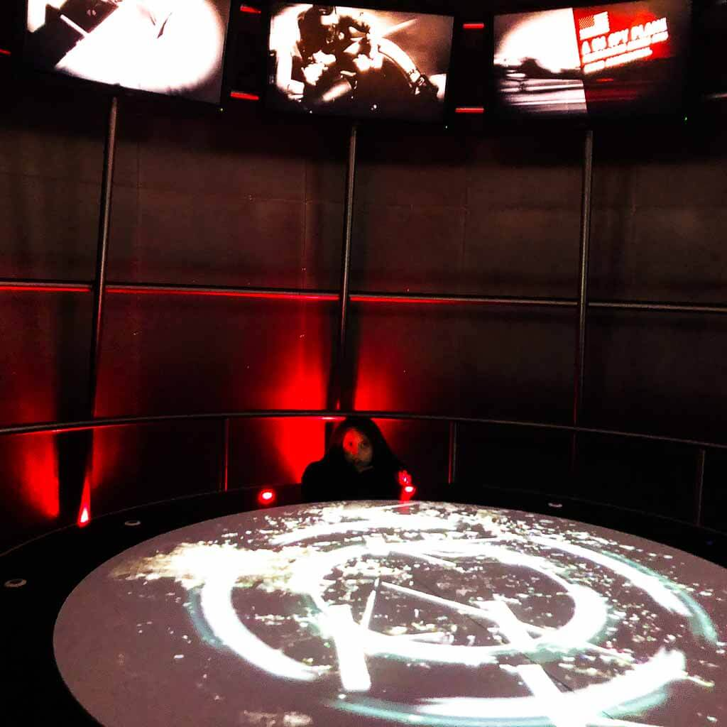 Interactive War Room At Raf Cosford