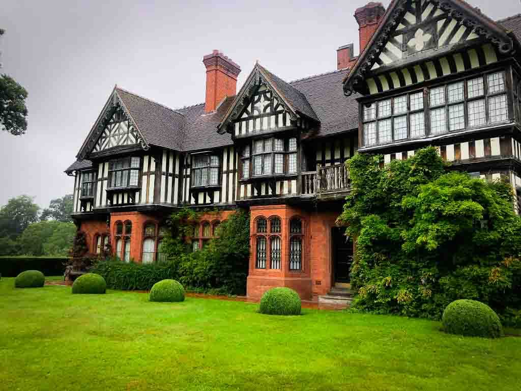 Black And White Tudor Manor House