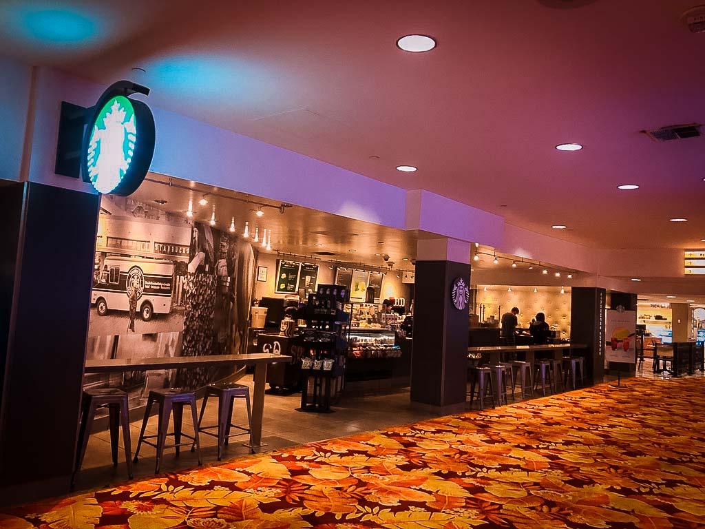 starbucks cafe at tropicana hotel