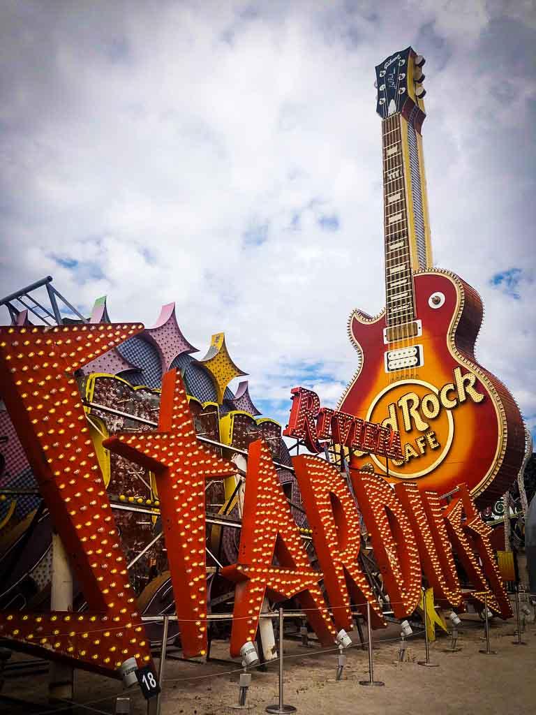 Bright orange Stardust Las Vegas original sign.